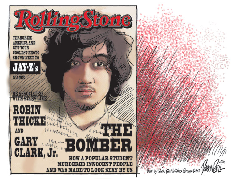 That Rolling Stone Cover about the Boston Bomber