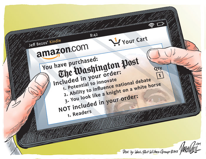 Amazon's Jeff Bezos Buys the Washington Post