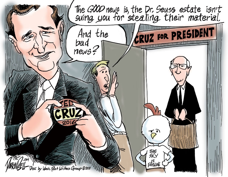 Ted Cruz's Paranoid Filibuster