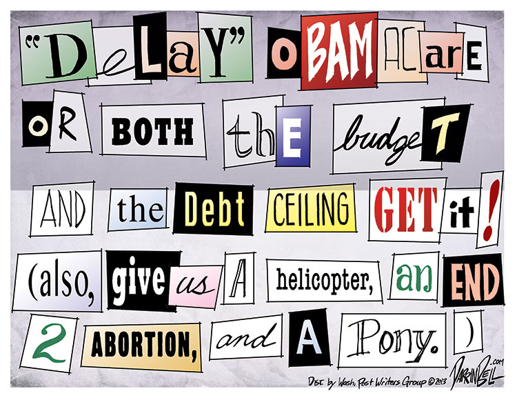 The Tea Party's Ransom Note