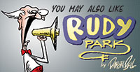 "You may also like ""Rudy Park"" by Darrin Bell. Visit Gocomics.com/rudypark"