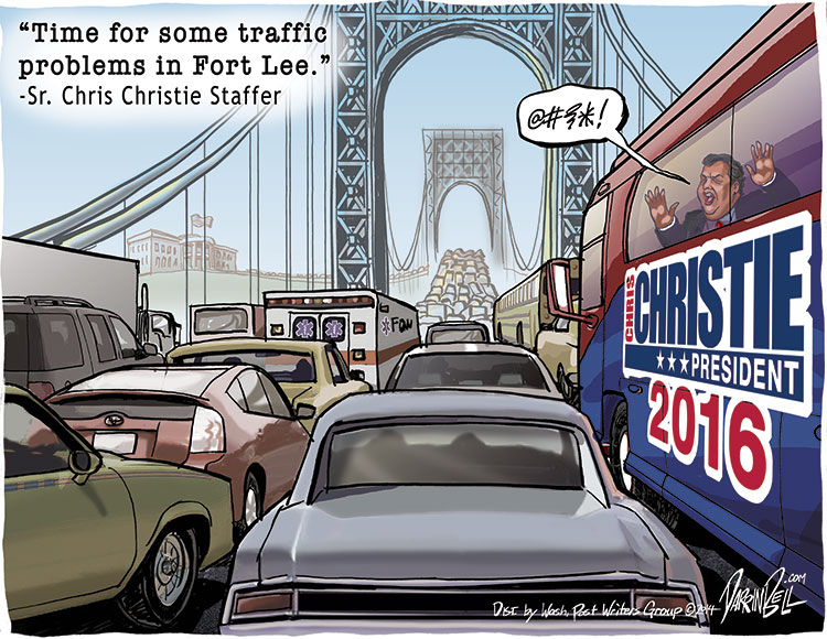 Chris Christie Sr. Staffer Orders Bridge Closure for Political Revenge