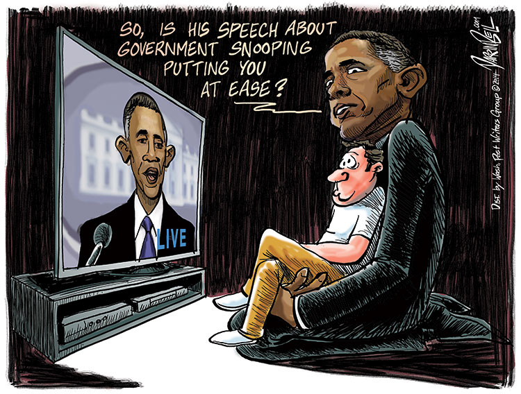 Did President Obama's Speech about Spying Put You at Ease?