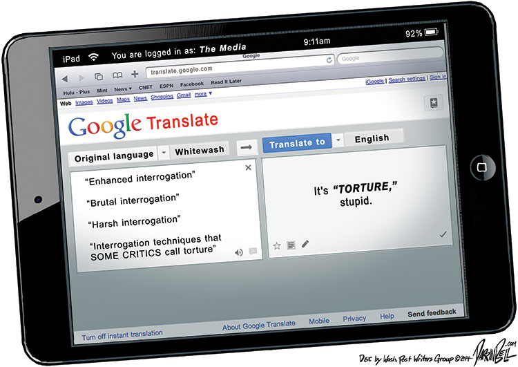 Translating Government's Newspeak Into English