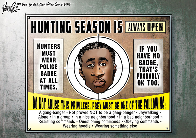 Open Season on Black Males
