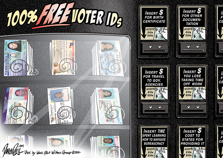 Some States with Voter ID Laws Claim to Offer ID for Free