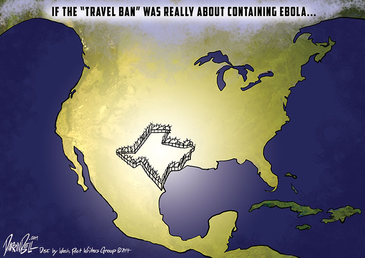 "If the ""Travel Ban"" Was Really About Containing Ebola"