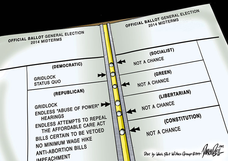 Voting Day! Your 2014 Midterm Election Ballot