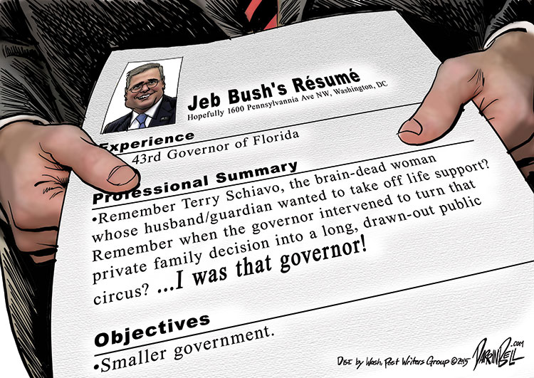 In Case You've Forgotten the First Time You Heard of Jeb Bush
