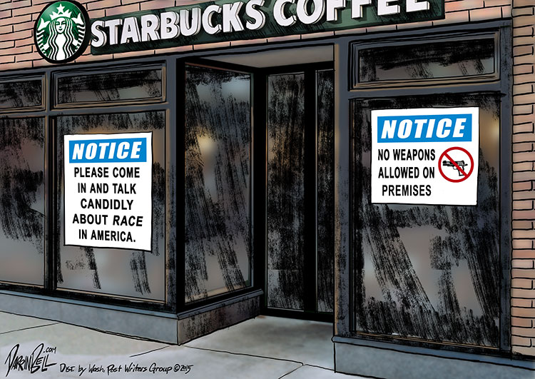 Starbucks Wants its Baristas and Customers to Talk Openly About Race.