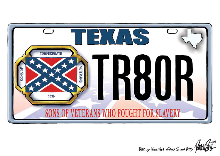 The Sons of Confederate Veterans is suing the state of Texas to force it to issue Confederate Flag license plates.