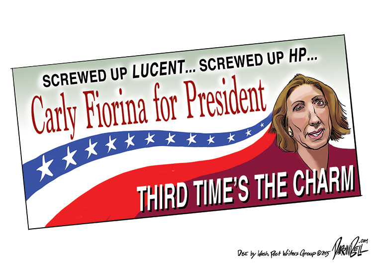 Carly Fiorina's About to Run for President