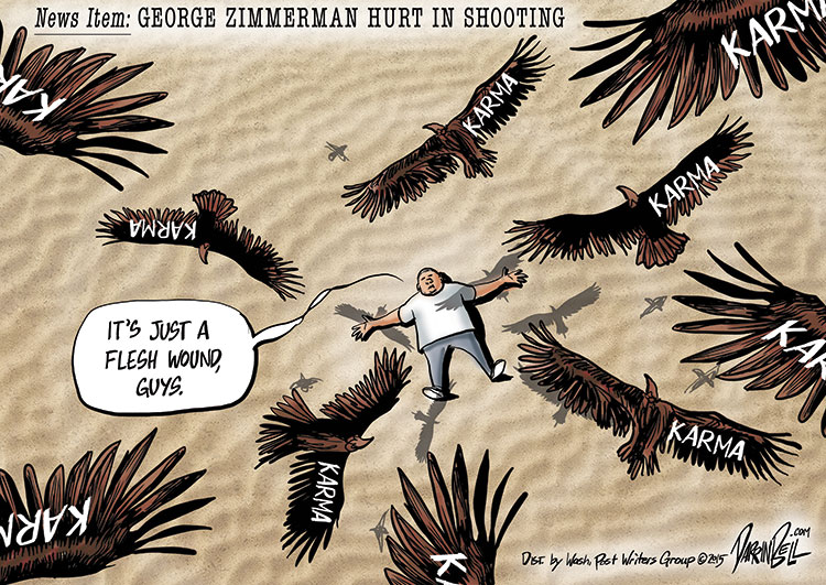 George Zimmerman Injured in Shooting