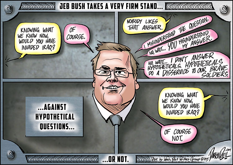 Jeb Bush Takes a Firm Stance on Whether He'd Have Invaded Iraq