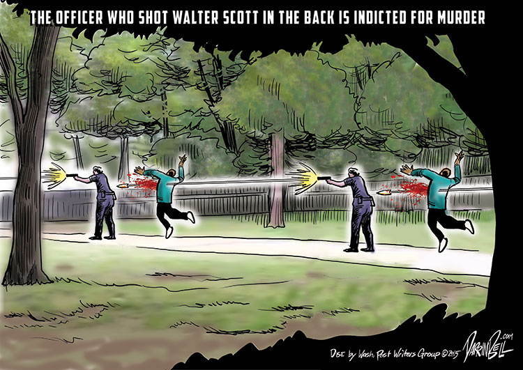 The Officer Who Shot Walter Scott in the Back is Indicted for Murder