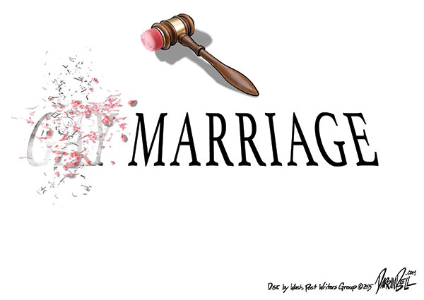 "The Supreme Court Legalizes ""Gay Marriage"" Nationwide."