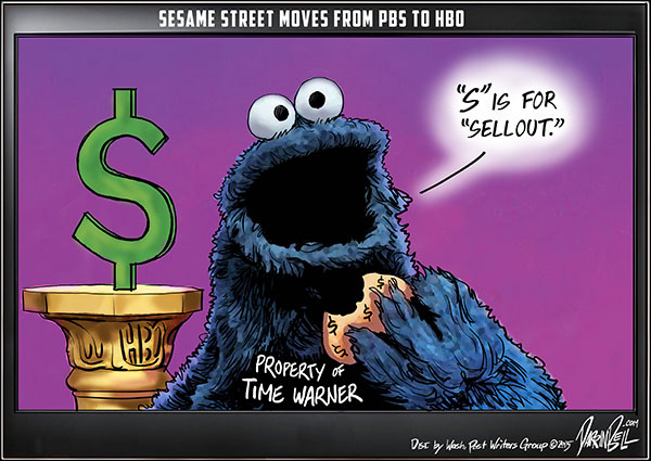 Sesame Street Moves from PBS to HBO. Seriously.
