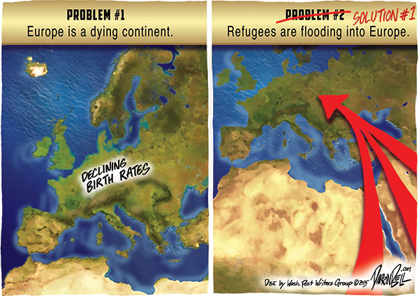 """A Different View of The European Migrant """"Crisis"""""""