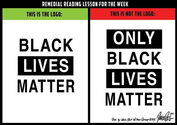 """Remedial Reading Lesson Featuring """"Black Lives Matter"""""""