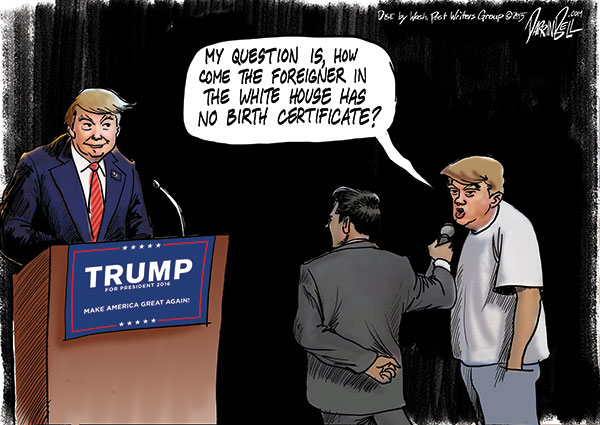 Why Donald Trump Didn't Contradict the Bigoted Questioner