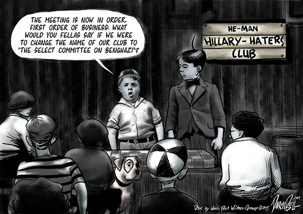 Hillary Clinton Testifies Before the Select Committee on Benghazi