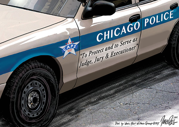 Chicago PD kills more black people