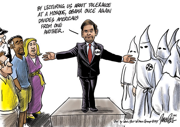 Rubio Claims Obama Divides Americans