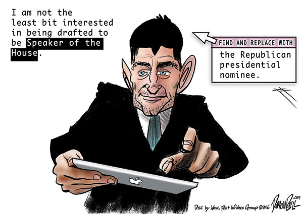 Paul Ryan says he's not interested in the GOP nomination
