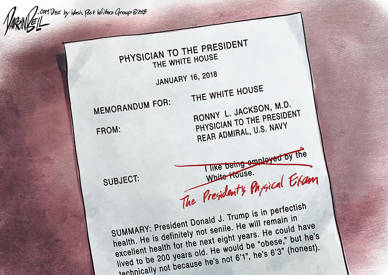 White House Doctor Says President Trump is Fit for Duty